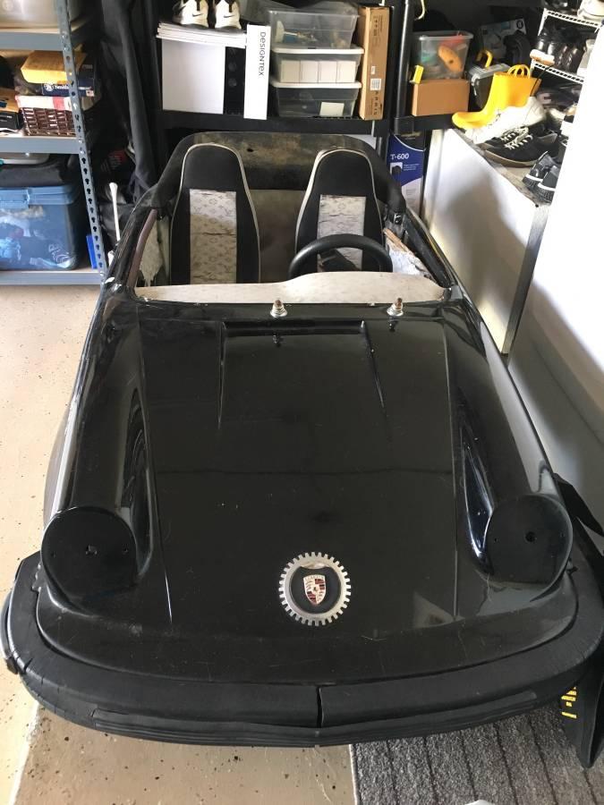 dirtyoldcars.com  Porsche Junior go cart los angeles  6