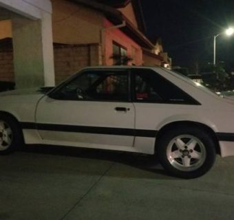 1989 Saleen Mustang Supercharged Found in California