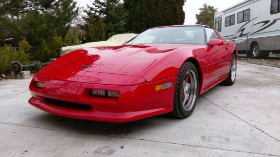 dirtyoldcars.com   Rare Shinoda-Williams C4 Corvette   5