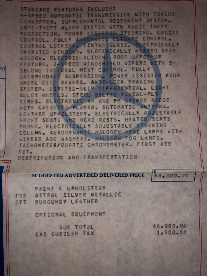 dirtyoldcars.com  mercedes 1987 560SEC  blue drug dealer mafia  car atlanta Georgia  14