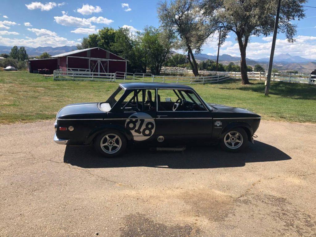 dirtyoldcars.com   1972 bmw 200tii race car colorado   8