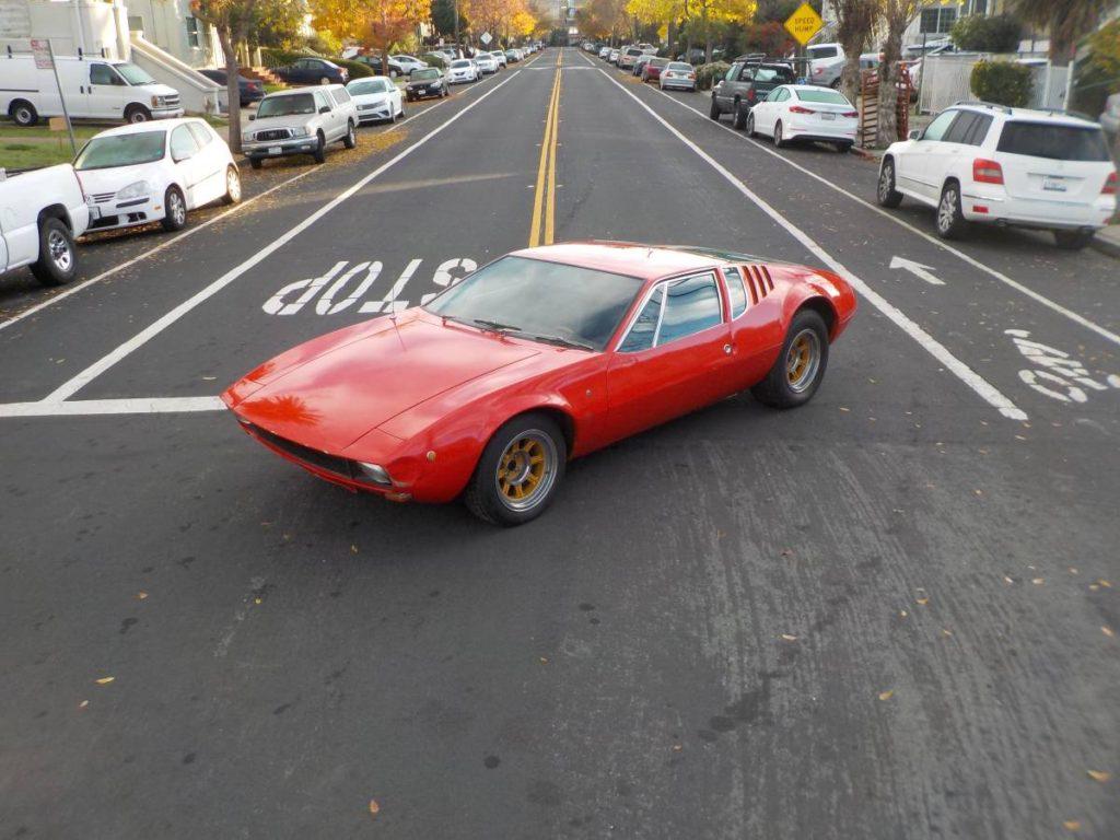 dirtyoldcars.com  1970 detomaso mangusta  new york 249k    19