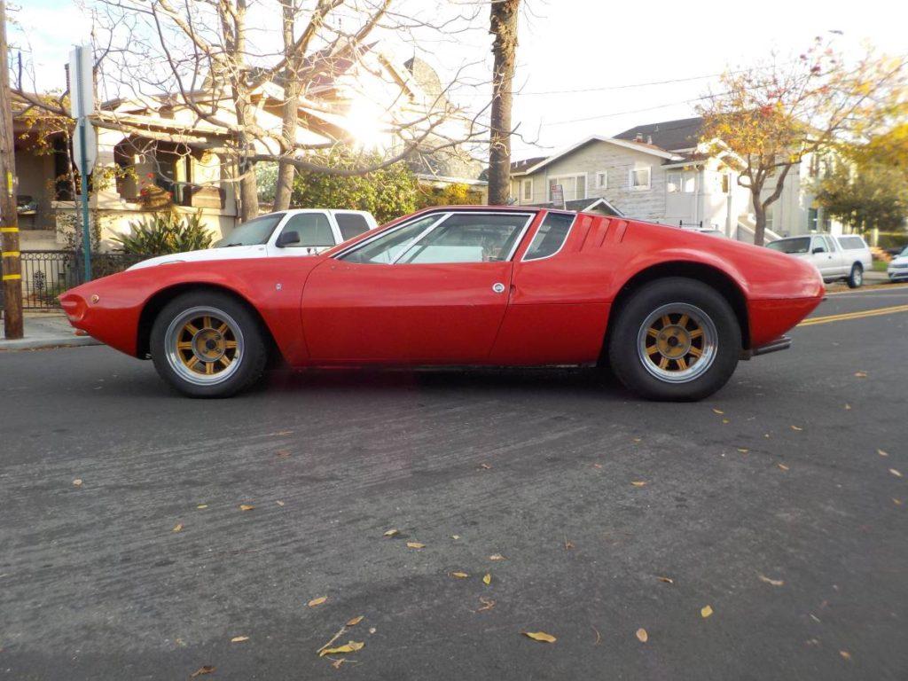 dirtyoldcars.com  1970 detomaso mangusta  new york 249k    18
