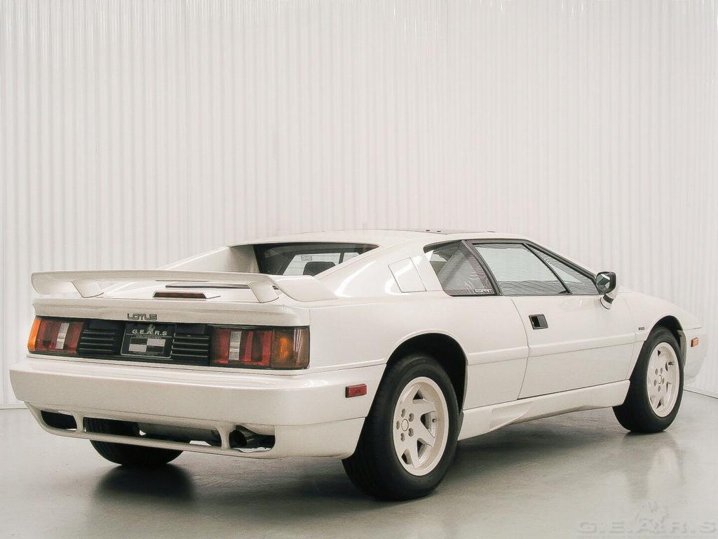 1988 Lotus Esprit Turbo Anniversary 77 of 88 Georgia   5