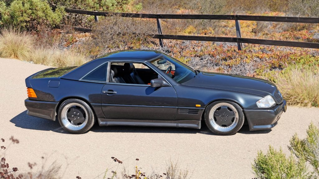 dirtyoldcars.com  1991 AMG 500SL 6.0 Liter  san diego California  8