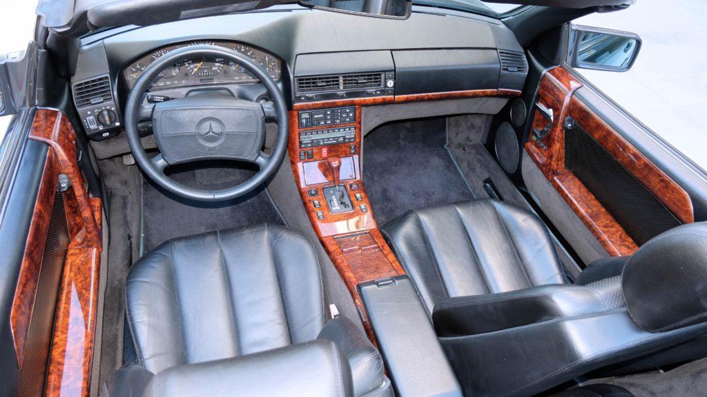 dirtyoldcars.com  1991 AMG 500SL 6.0 Liter  san diego California  14