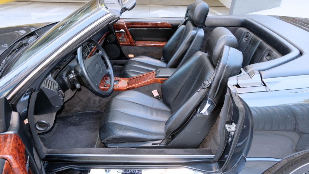dirtyoldcars.com  1991 AMG 500SL 6.0 Liter  san diego California  13