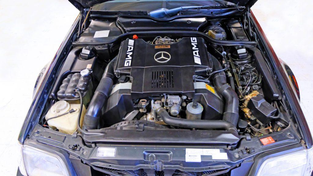 dirtyoldcars.com  1991 AMG 500SL 6.0 Liter  san diego California  11