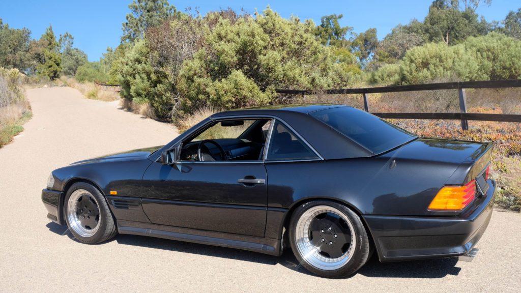 dirtyoldcars.com  1991 AMG 500SL 6.0 Liter  san diego California  9