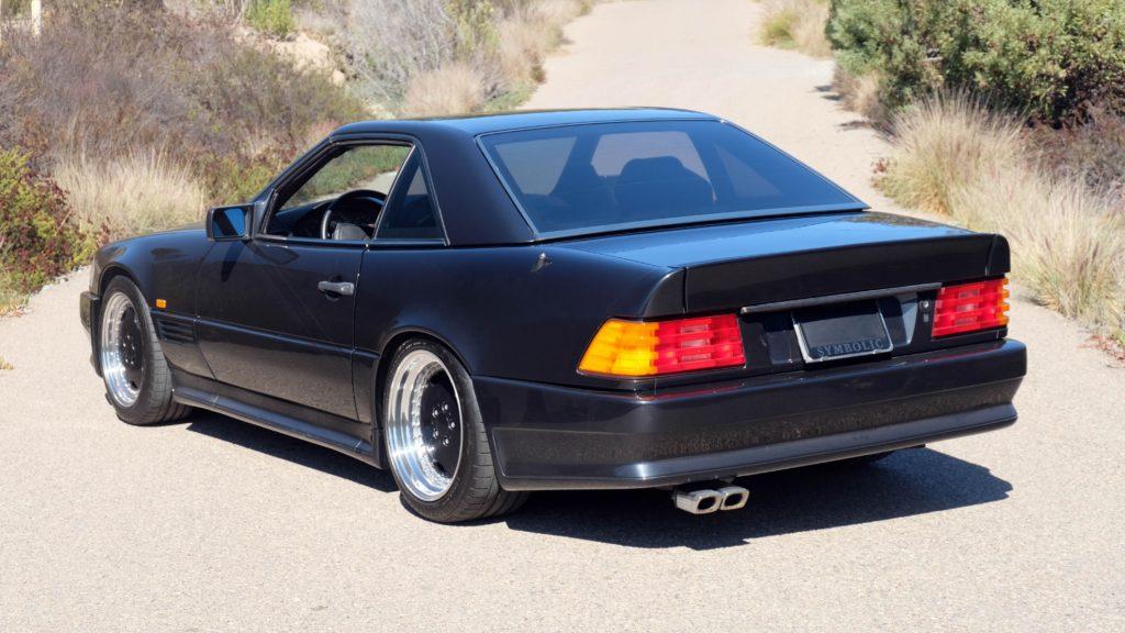dirtyoldcars.com  1991 AMG 500SL 6.0 Liter  san diego California  7
