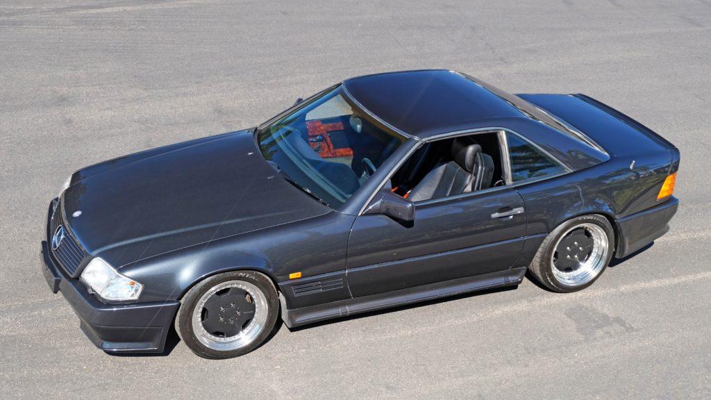 dirtyoldcars.com  1991 AMG 500SL 6.0 Liter  san diego California  6