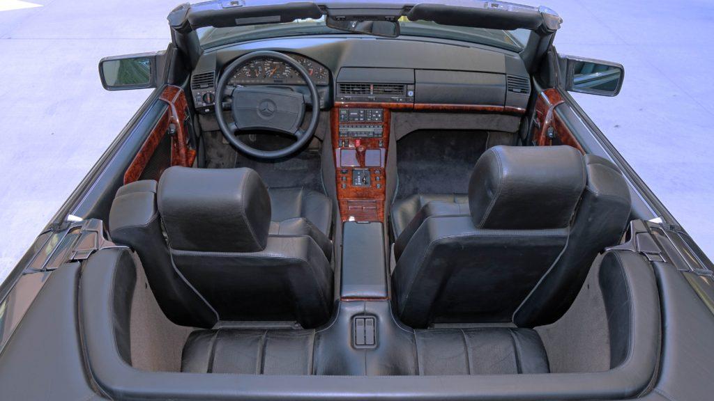 dirtyoldcars.com  1991 AMG 500SL 6.0 Liter  san diego California  15