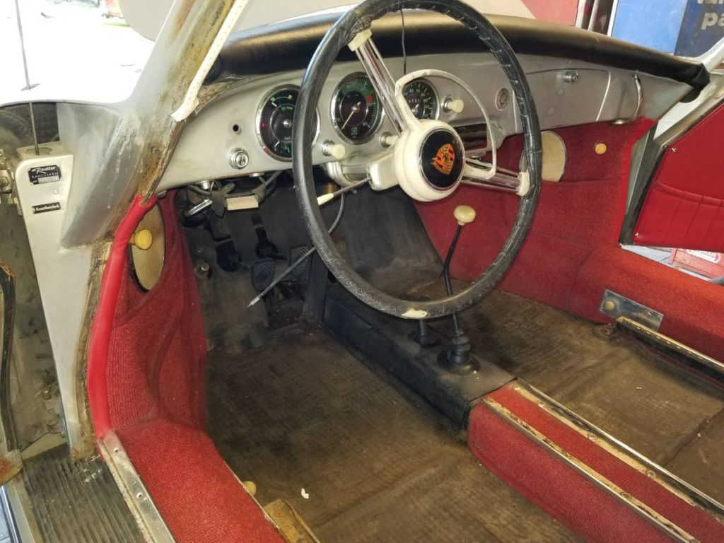 dirtyoldcars.com  Porsche 356A 1958 oroville  california   6