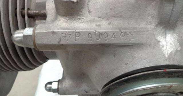 dirtyoldcars.com Porsche 4 Cam Type 547 Engine  FOR SALE 300K