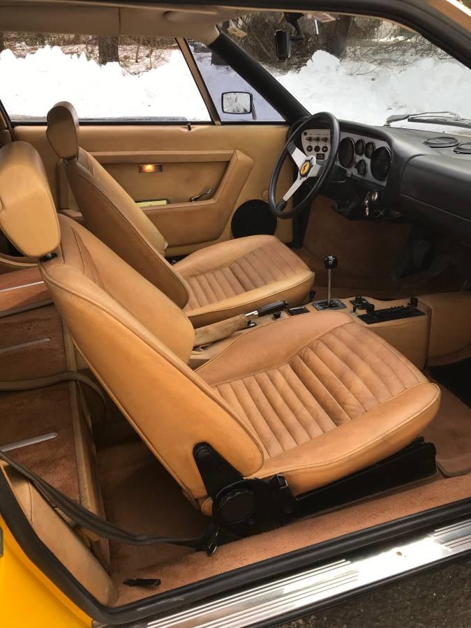 dirtyoldcars.com  1975 ferrari 308 gt4  yellow boxer scheme  47k   52k miles  Connecticut  2
