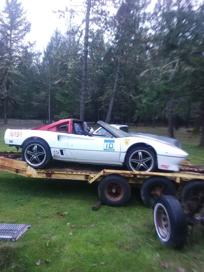 dirtyoldcars.com   ferrari 308  1983 race car project  portland  2