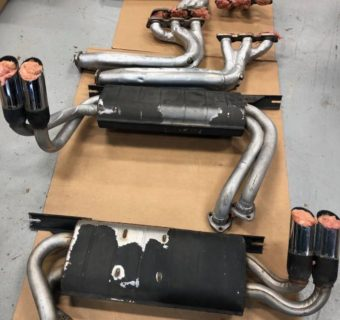 1987 Ferrari Testarossa Exhaust System Found in New Jersey