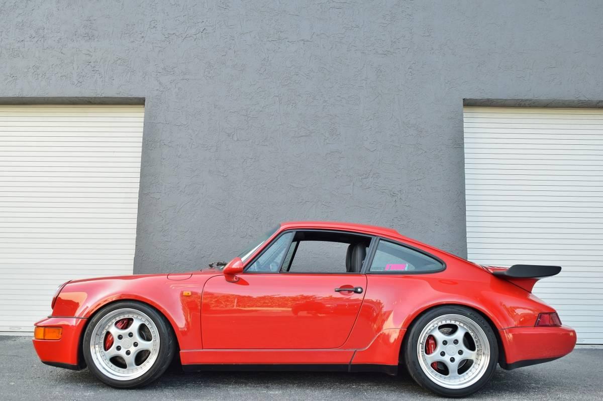 1991 Porsche 964 Turbo 3 8l Found In Miami Dirty Old Cars
